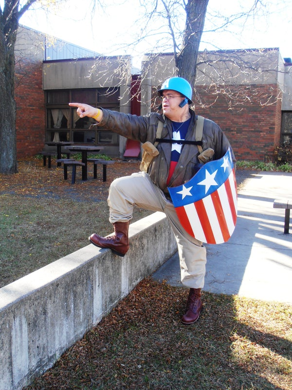 WWII Captain America Bucky Rescue Outfit