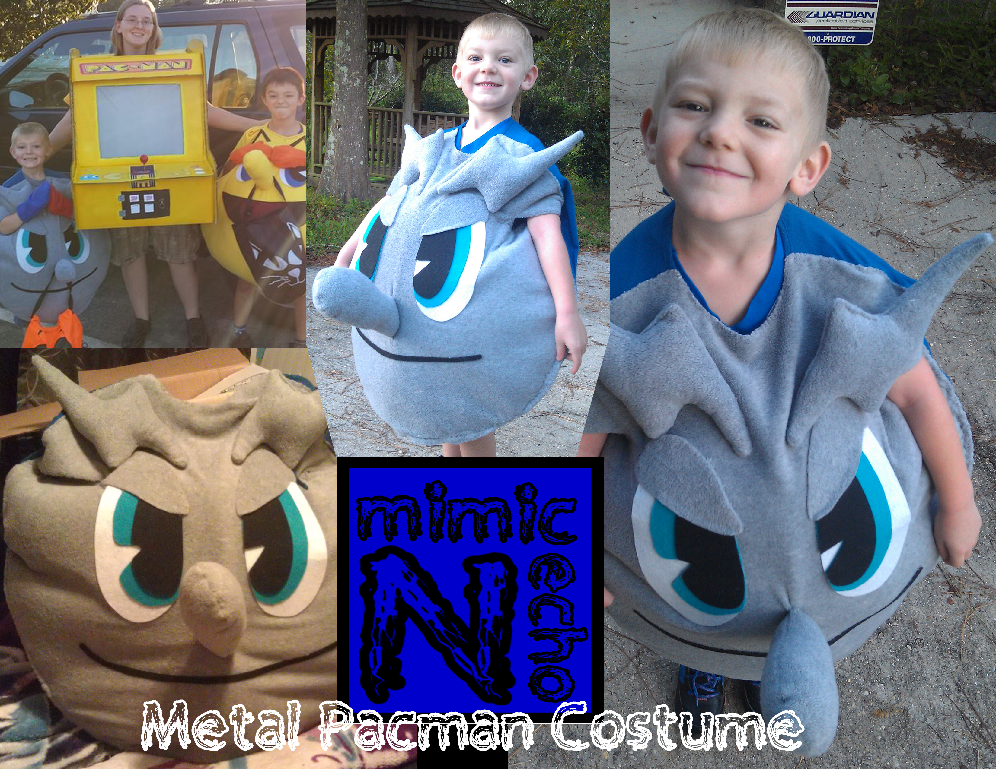 Picture of Metal Pacman Costume