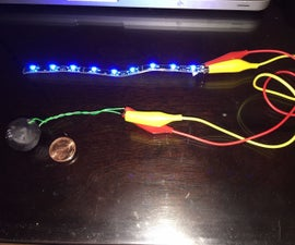 12V mini, wearable, mobile power source: