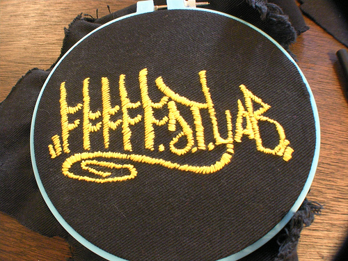 Picture of Start Embroidering