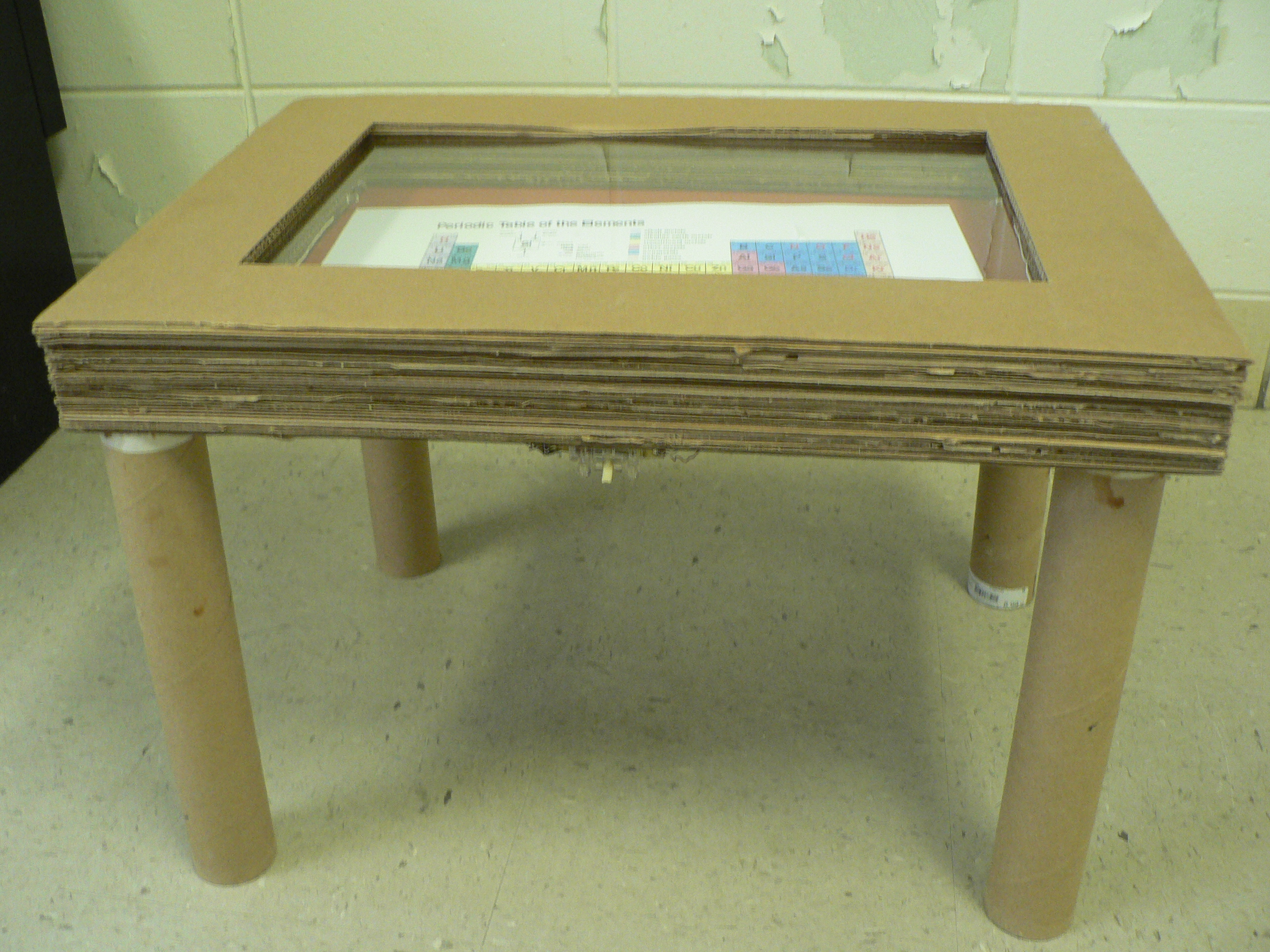 Picture of Led Shadow Box Table