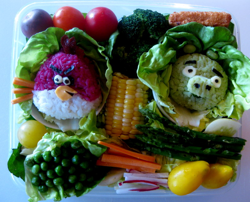 Picture of Angry Birds Bento Box