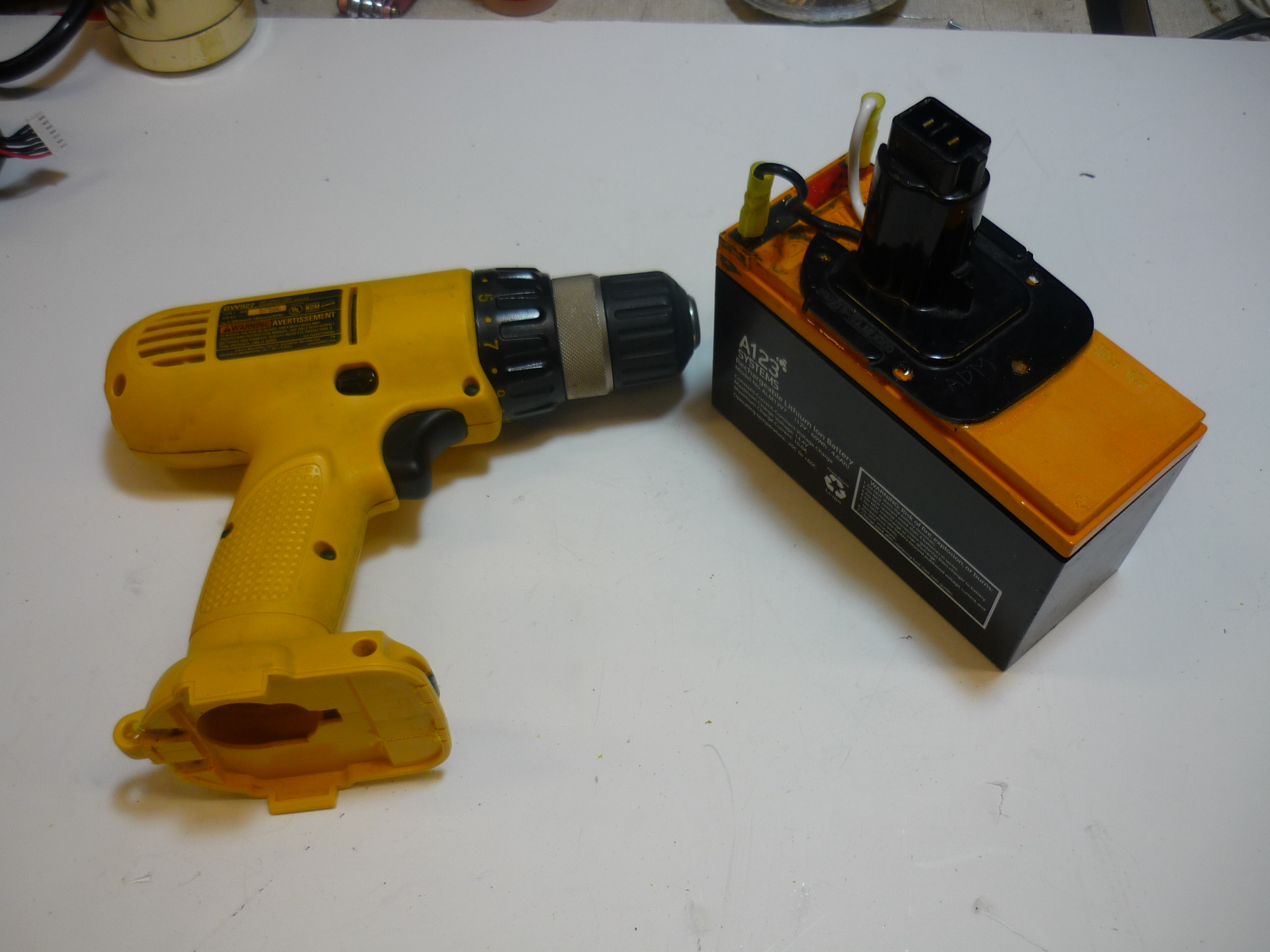 Picture of Makerspace Power Tool Upgrade: NiMh to Lithium Iron Phosphate