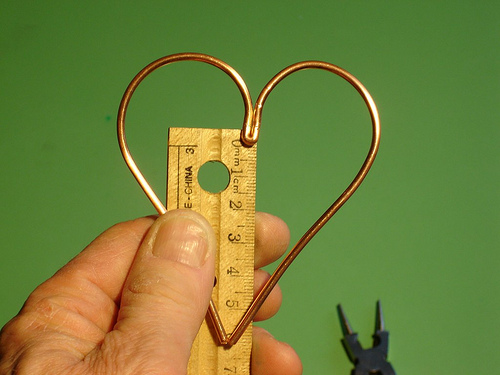 Picture of Make the Flat Heart Shape