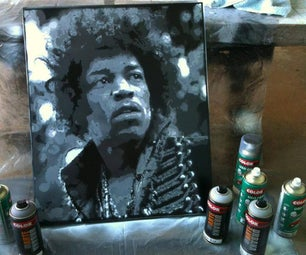 How to Make a Multilayer Stencil Jimmy Hendrix