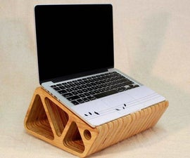 A Laptop Stand... out of Plywood!