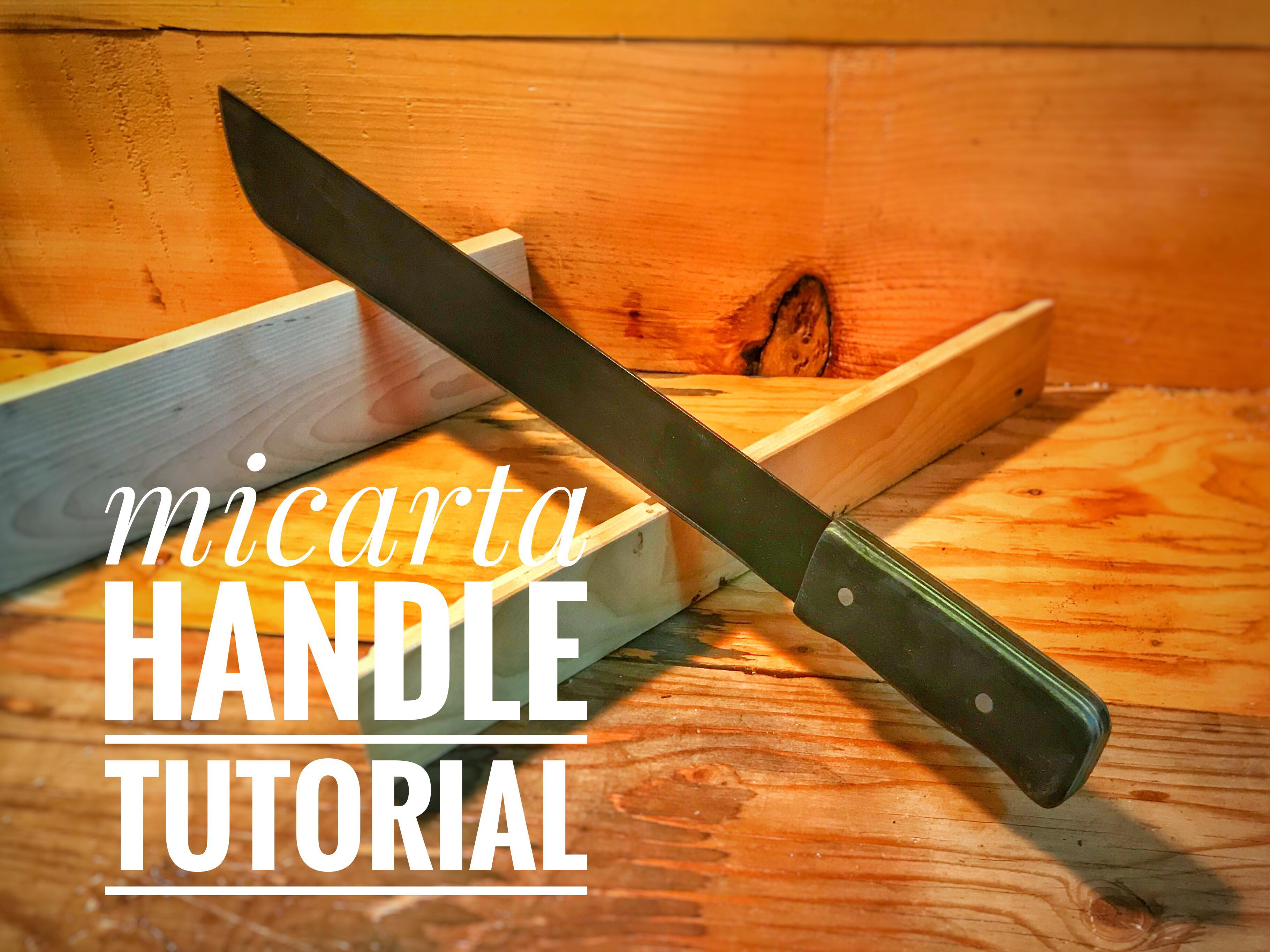 Picture of Knife Making-micarta Handle Tutorial