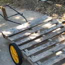 Pallet As Garden Wagon/trailer 2.0