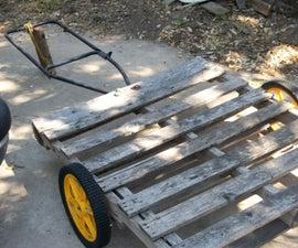 Pallet As Garden Wagon/trailer 2.0