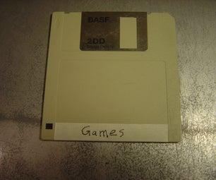 Edge-Labeling Floppy Disks