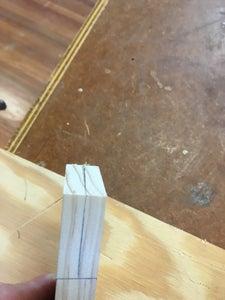 Mitered Corner Halving Joint