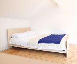 Making a Simple DIY Platform Bed