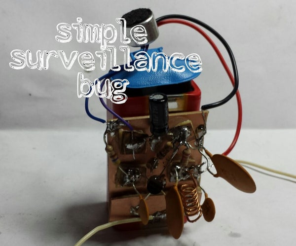 Simple Surveillence Bug