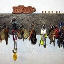 Redneck Key Rack with Options
