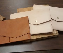 Make a Leather Clutch or Purse