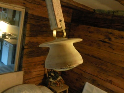 A Simple Lamp Made From Laminated Wood