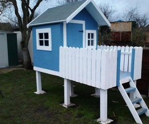 How to Build Your Own Wendy House for Next to Nothing