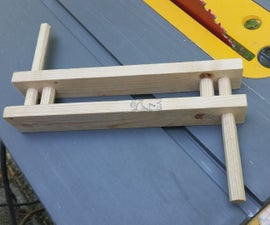 How to Make a Kite String Winder from 2x4 Scraps