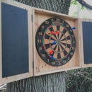 """Lawn Darts"" from reclaimed materials"