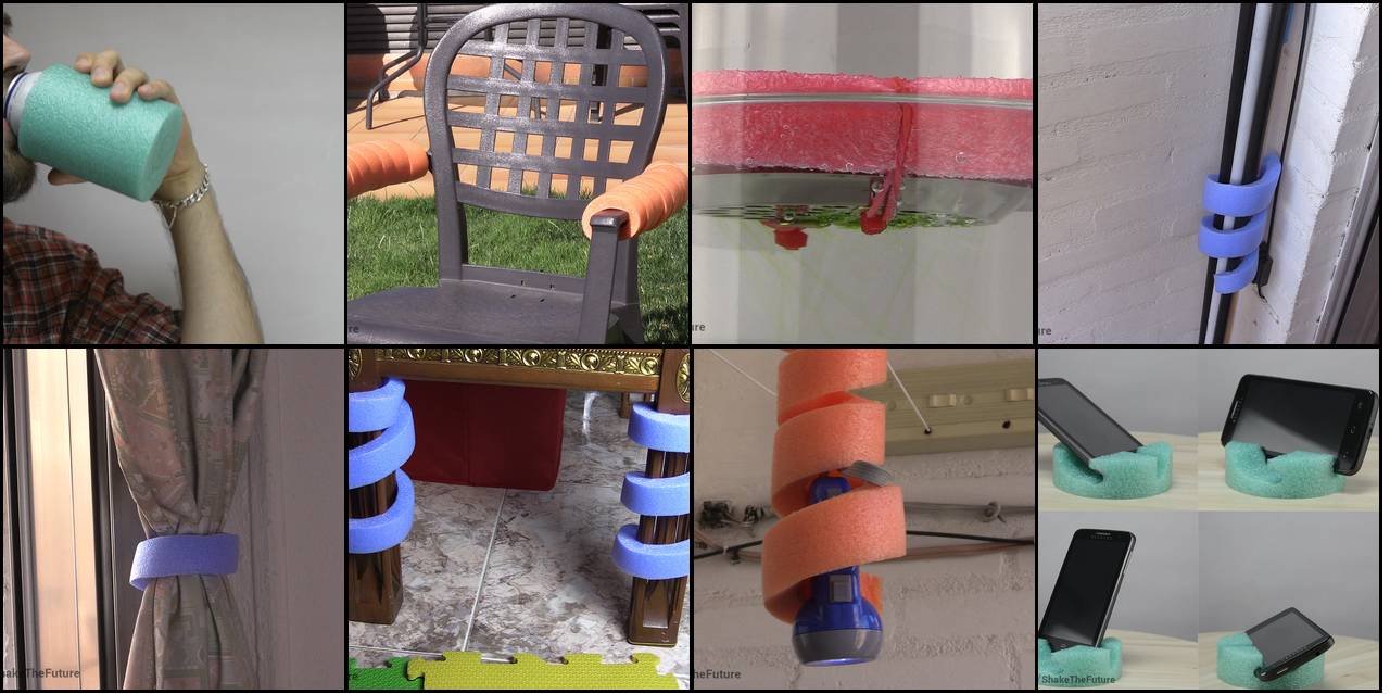 Picture of 8 Pool Noodle Life Hacks & Diy's
