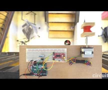 Arduino Bluetooth-controlled Mini-Lift