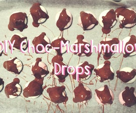 Choc-Marshmallow Drops In 3 Easy Steps!