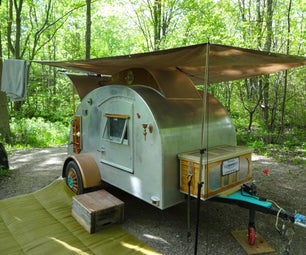 How to Steampunk a Teardrop Camping Trailer (Part 2)