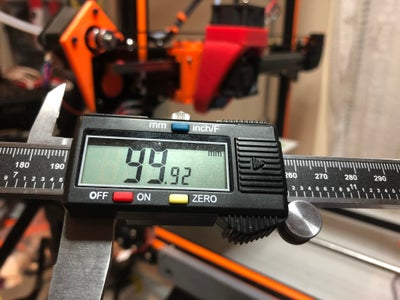 Quick Calibration of the Three Axis and the Extruder.