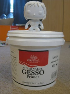 Use Gesso to Fill in Cracks Because It's Awesome!