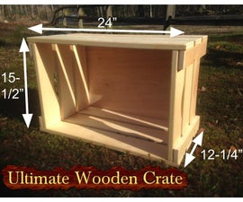 Ultimate Wooden Crate