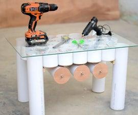 DIYers PVC Organizer Workbench/Table