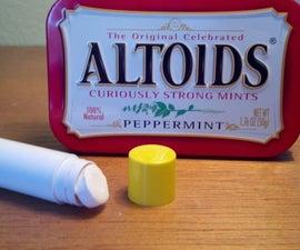 SECRET: Chapstick tube Altoid Dispenser!