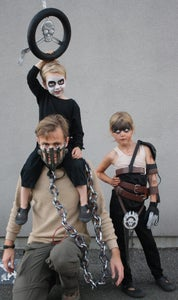 Mad Max and War Boy Nux Father Son Costume