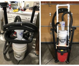 Better Dust Collection & Tool Organization for Shop Vacs