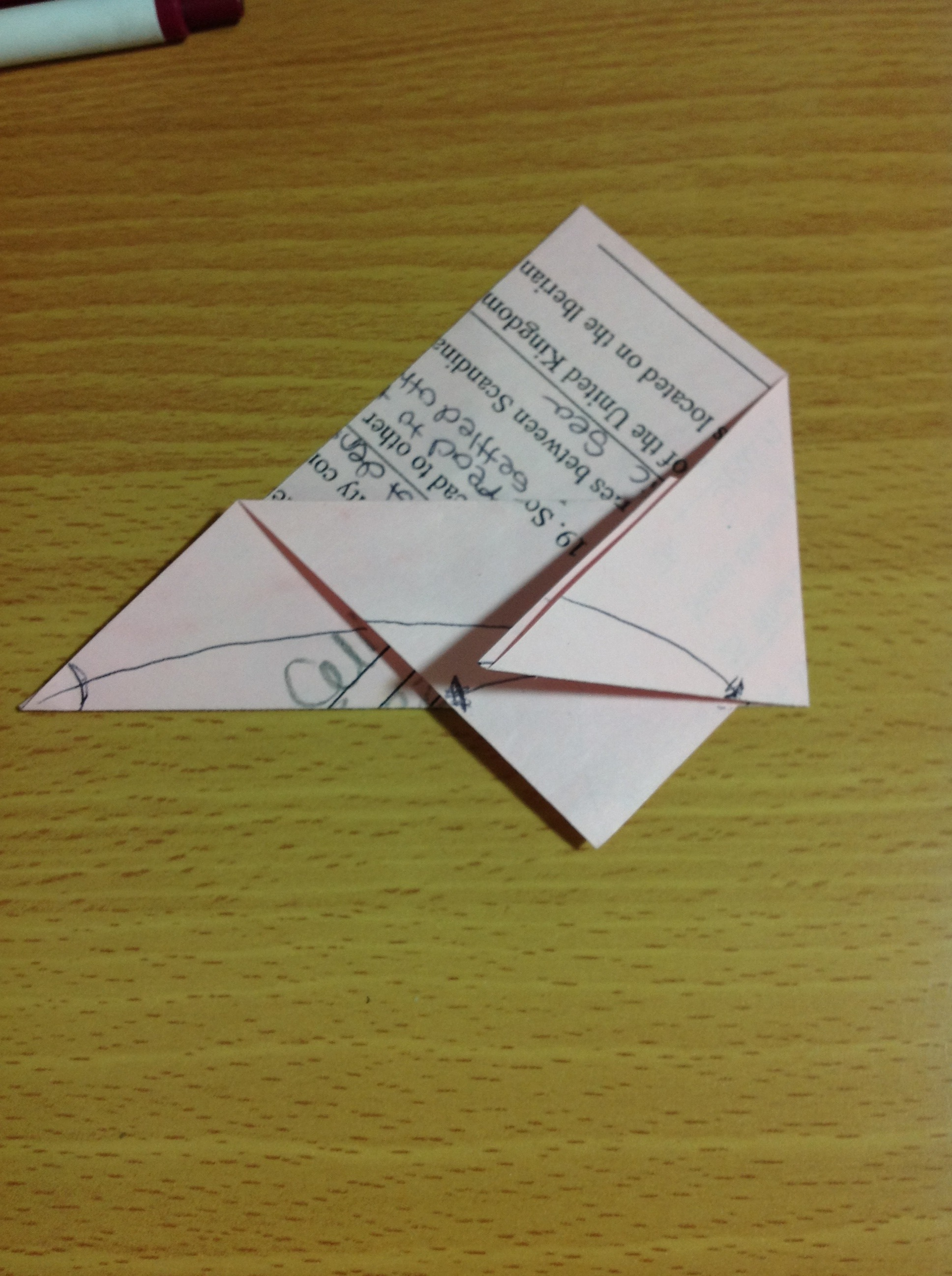Picture of Fold Left and Right Corners