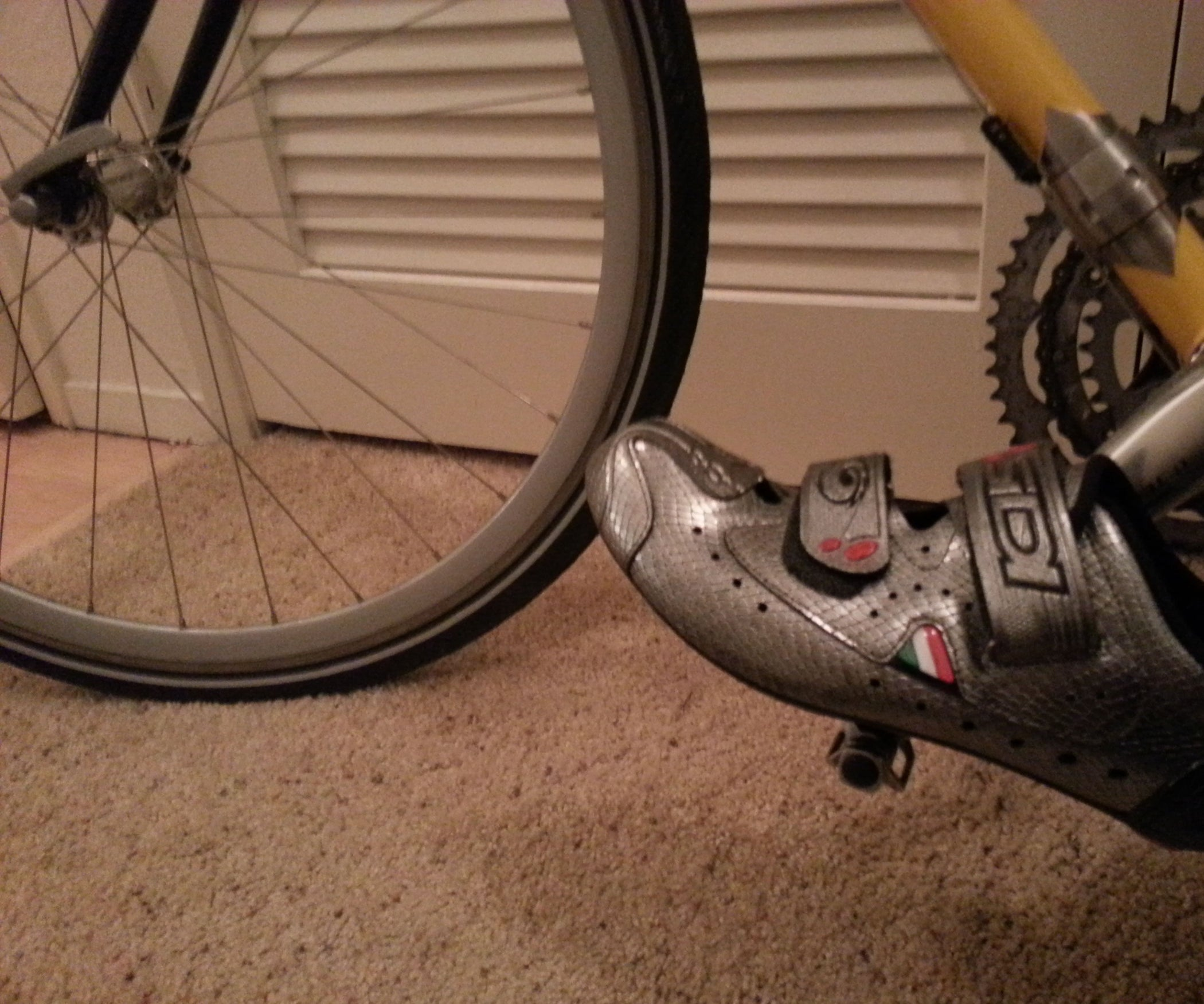 Midfoot Bicycle Cleat Position