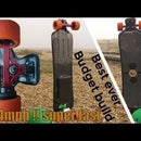 Insane Electric Longboard Budet With Carbon Fiber Deck