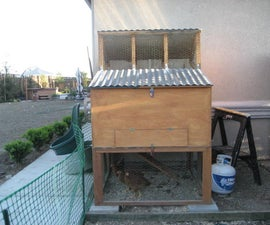 How to make the perfect chicken coop for three chickens!