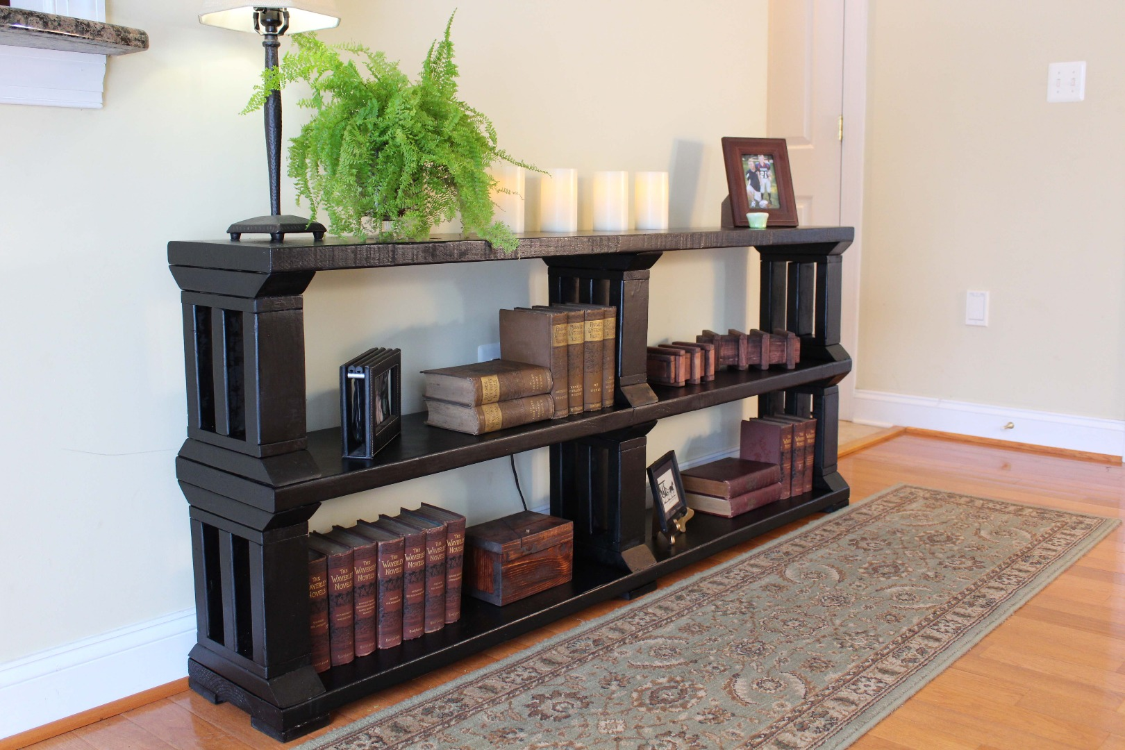 Picture of Rustic Book Shelf or TV Stand