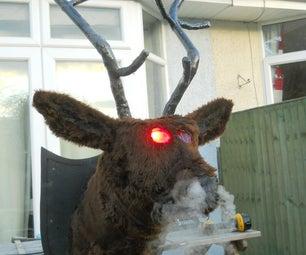 "Smoke Breathing Ravey Stags Head, Aka ""Rupert"""