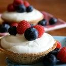 White Chocolate Mini Pies