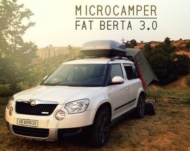 SUV MicroCamper - Fat Berta 3.0