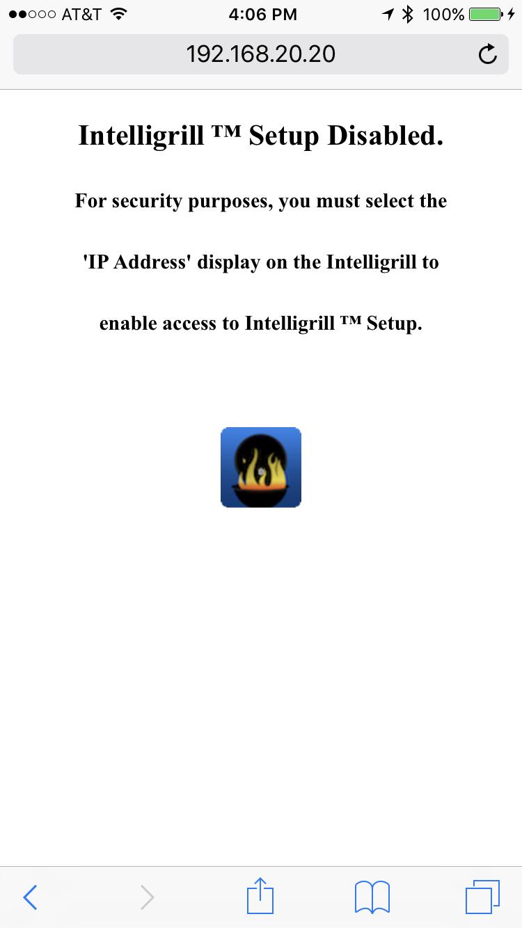 Picture of Prepare Intelligrill for Use.