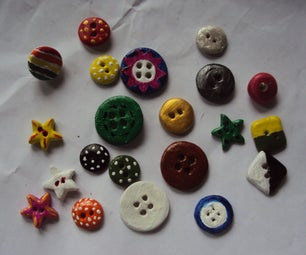 CREATIVE CLAY BUTTONS