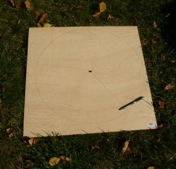 Picture of Draw and Cut Out Circle for the Moon.