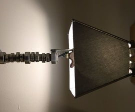 Old Car Parts Lamp