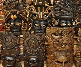 How To Create Mayan Masks