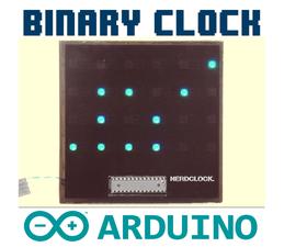 The NerdClock: An RGB Binary Clock [Arduino Software]