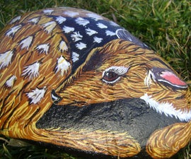 Painted Deer Rock
