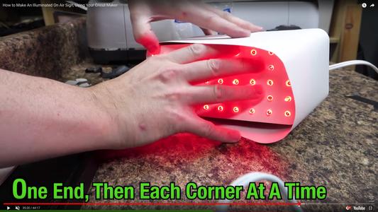 Carefully Add the Lighting Panel of Christmas LED's